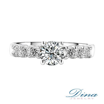 DINA JEWELRY 蒂娜珠寶 求婚戒 0.50克拉 完美鑽戒
