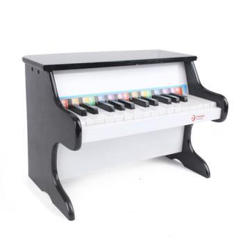 classic world 德國經典木玩 客來喜 黑色木製鋼琴