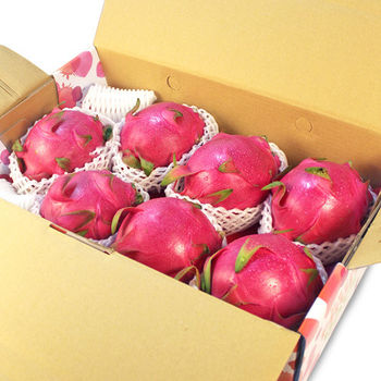 【鮮果日誌】白肉 紅龍果/火龍果 (7入禮盒裝)