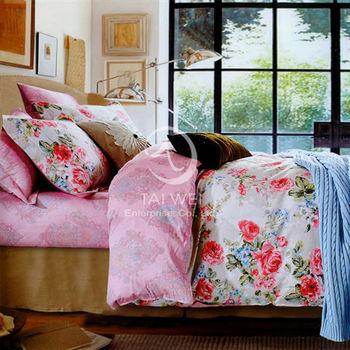 【卡莎蘭】尼奧 雙人純棉七件式床罩組