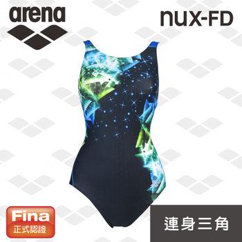 【限量】arena 女用連身三角低叉連身泳衣 FINA認證 競賽款 F4514WZ
