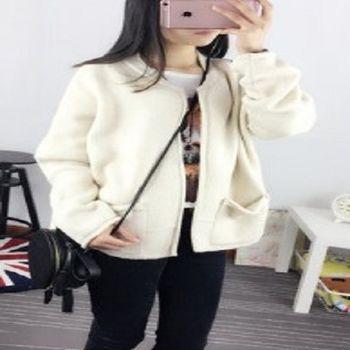 [協賀]韓版毛衣開衫外套