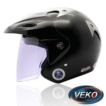 快-VEKO藍芽4.0立體聲專利安全帽(BTS-M1黑)