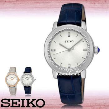 【SEIKO 精工】新品上市_簡約優雅指針型_女錶(SRZ451P1)