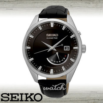 【SEIKO 精工】雜誌款_經典紳士男錶_真皮錶帶(SRN045P2)