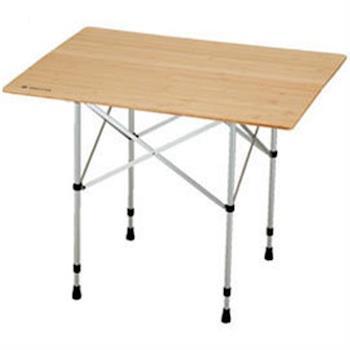 【SnowPeak 】鋁管竹折桌 -長方桌 LV-121T