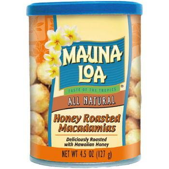 【夢露萊娜】夏威夷豆果仁-鹽焗蜂蜜3罐組 (127g/罐)