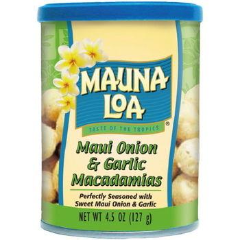 【夢露萊娜】夏威夷豆果仁-洋蔥香蒜3罐組 (127g/罐)