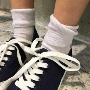 [協賀]百搭短筒文藝森系女襪子