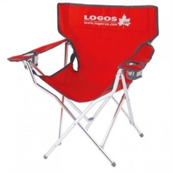 【LOGOS】 查爾斯王子休閒椅-紅 LG73021539