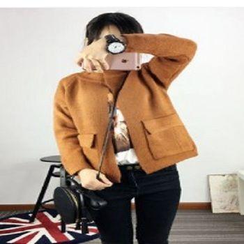 [協賀]韓版短款上衣加厚