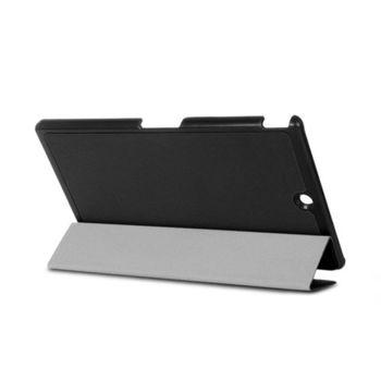 Dido shop SONY Z3 Tablet 三折卡斯特紋平板保護套 保護殼 (NA113)