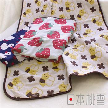 日本桃雪五層紗嬰兒被