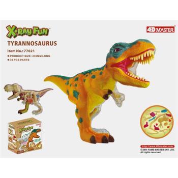【4D MASTER】恐龍模型系列-半透視X變形暴龍 77021