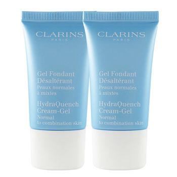 任-Clarins 水潤奇肌保濕水凝凍 15ml*2