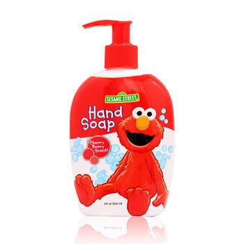 【美國 Sesame Street 】可愛造型洗手乳(櫻桃莓果香)8oz/236ml