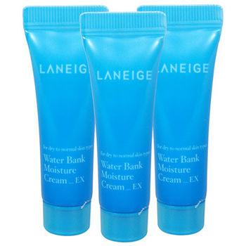 Laneige蘭芝 水酷肌因保濕水凝霜(10ml)*3【即期品】