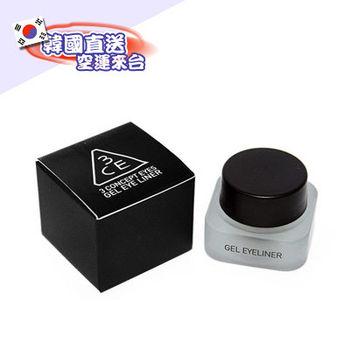 韓國美妝3CE/防水抗暈濃密眼線膠