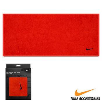 NIKE 日系盒裝毛巾(紅/黑勾)