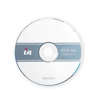 in CD-R空白燒錄片1-52倍速 700MB 80mIn/20片裝