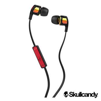 美國Skullcandy潮牌 SB2 入耳式耳機-金屬橘+黑色(公司貨)