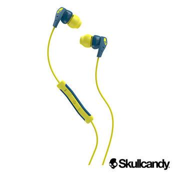 Skullcandy 骷髏糖 METHOD美色運動型入耳式耳機-藍+黃(公司貨)