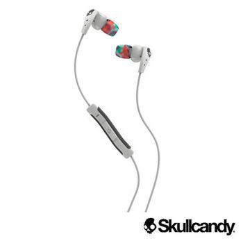 Skullcandy 骷髏糖 METHOD美色運動型入耳式耳機-白+彩虹色(公司貨)