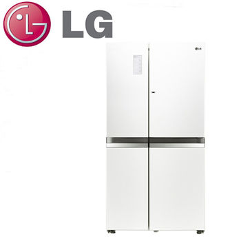 好禮送【LG樂金】825L門中門魔術空間變頻對開冰箱GR-DB78W