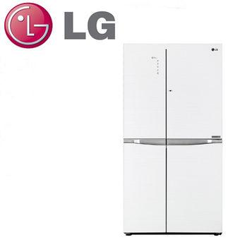 好禮送【LG樂金】825L門中門魔術空間變頻對開冰箱GR-DB78G