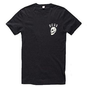 Deus 骷髅頭 經典地標 短袖上衣 - 峇里島 CANGGU SKULL