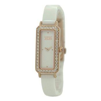 NATURALLY JOJO方形陶瓷時尚腕錶 JO96875-80R