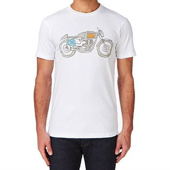 Deus Ex Machina G50 T恤 | 騎士衝浪品牌 - (白)