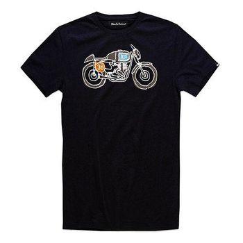 Deus Ex Machina G50 T恤 | 騎士衝浪品牌 - (黑)