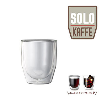 recolte 日本麗克特 Solo Kaffe 專用 雙層耐熱玻璃杯 (200ml)