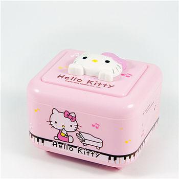 【Hello Kitty】 三麗鷗授權 小巧飾品音樂盒 / 收納盒