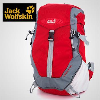 【飛狼 Jack Wolfskin】Trek II 35L登山包 /紅色