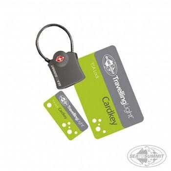 SEATOSUMMIT TSA 卡片式安全鎖