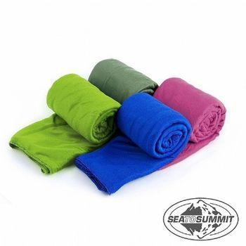 SEATOSUMMIT 口袋型快乾毛巾XL (盒裝/75X150CM)(萊姆綠)