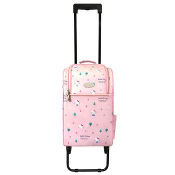 卡蘿輕便時尚購物車(輕旅行/登機)-20L-Hello Kitty限量版