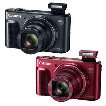 Canon PowerShot SX720 HS 40倍光學變焦隨身機 (公司貨)-@