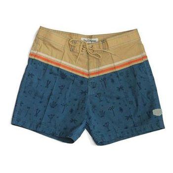 Deus 16吋 棕梠樹 綁繩 海灘褲 - 峇里島 CANGGU ORIGINAL PALMS - 鉛色
