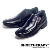 SAPATOTERAPIA 巴西簡約素面直套皮鞋男鞋 ^#45 黑