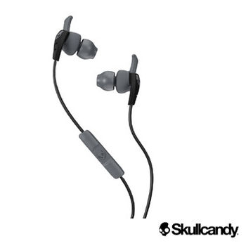 美國Skullcandy骷髏糖 XTP 運動型入耳式耳機-白+黑灰色(公司貨)