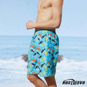 Heatwave熱浪 男海灘褲 彩游魚-A202