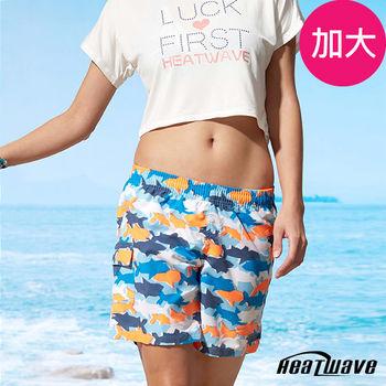 Heatwave熱浪 加大女海灘褲 海洋鯊-C50