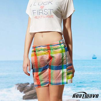 Heatwave熱浪 女海灘褲 格彩紋-C52