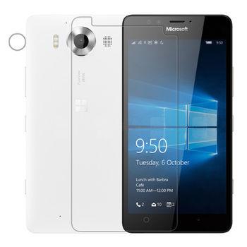 【NILLKIN】Microsoft Lumia 950 超清防指紋保護貼 - 套裝版