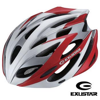 【Exustar】23孔自行車專用安全帽(紅)-L