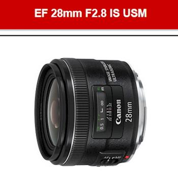 【Canon】EF 28mm F2.8 IS USM(公司貨)