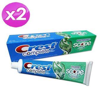 【美國 CREST 】強效保健牙膏-家庭號(226g) 2入組
